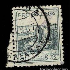 Sellos: CL8-14 GUERRA CIVIL PERIANA (MALAGA) FESOFI Nº 122 USADO T.FI. Lote 287460408