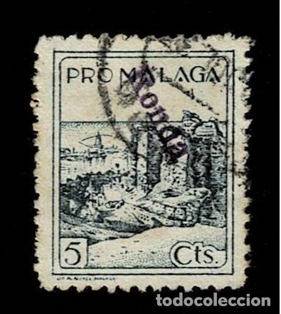 CL8-14 GUERRA CIVIL RONDA (MALAGA) FESOFI Nº 126 USADO T.FI (Sellos - España - Guerra Civil - Locales - Usados)