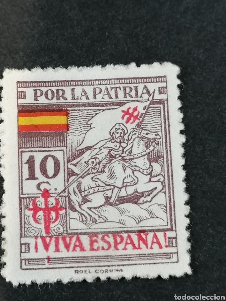 Sellos: España Guerra Civil Viñetas serie sellos Coruña - Foto 4 - 287725818