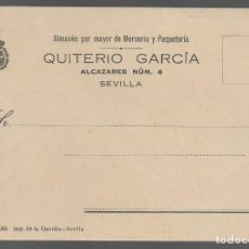 Sellos: POSTAL, PARTICULAR COMERCIAL..-QUITERIO GARCIA,. VER FOTO. Lote 288099958