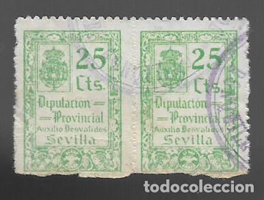 SEVILLA, - VARIEDADES- BENEFICOS- VER FOTO (Sellos - España - Guerra Civil - Locales - Usados)