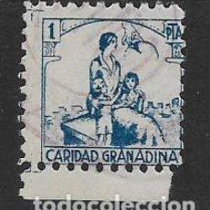 Sellos: GRANADA, 1 PTA. -CARIDAD GRANADINA-- VER FOTO. Lote 288137768