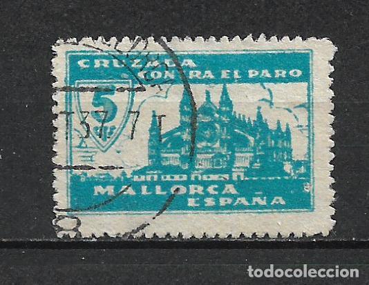 ESPAÑA GUERRA CIVIL MALLORCA 5 CTS. USADO - 15/10 (Sellos - España - Guerra Civil - Locales - Usados)