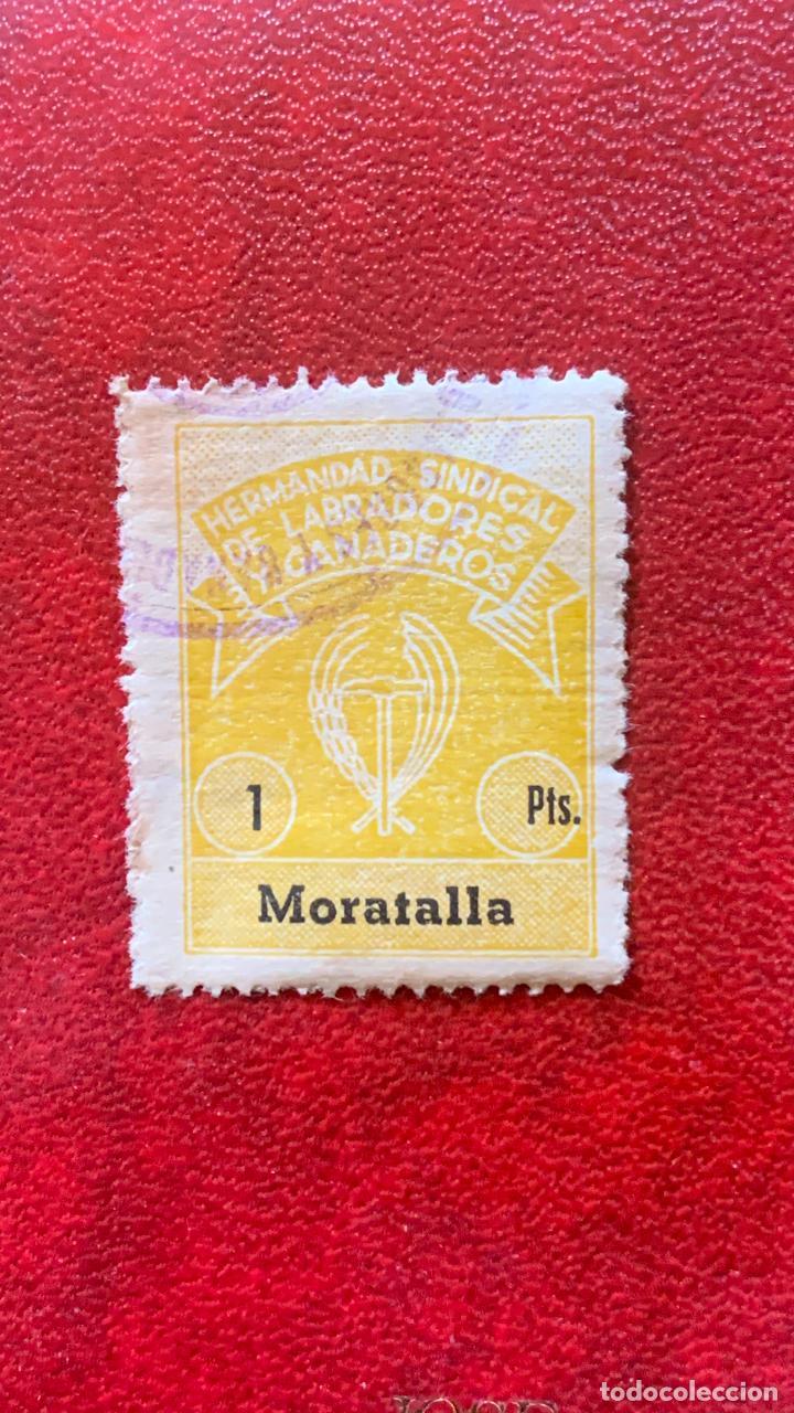 ANTIGUO SELLO MORATALLA GUERRA CIVIL (Sellos - España - Guerra Civil - Locales - Usados)