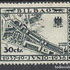 Sellos: BILBAO 1937 NUEVO(*). Lote 289233893