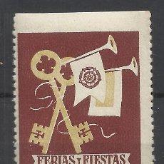 Sellos: REUS TARRAGONA 1950 FERIA Y FIESTAS SAN PEDRO NUEVO*. Lote 289262588