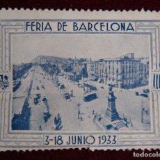 Sellos: SELLO EXPOSICION INTERNACIONAL BARCELONA EL ARTE EN ESPAÑA 1929. Lote 289748078