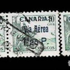 Sellos: CL8-17 GUERRA CIVIL CANARIAS VIA AEREA FESOFI Nº 46 CONJUNTO DE 3 EJEMPLARES USADOS VER T.CC. Lote 292132613