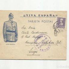 Sellos: CIRCULADA 1939 DE BILBAO A SUIZA CON CENSURA MILITAR. Lote 294120333