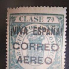 Sellos: SELLOS ESPAÑA MNH 1936 LOCALES BURGOS. FISCALES CORONA REAL. EDIFIL 41. Lote 294579348