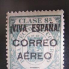 Sellos: SELLOS ESPAÑA MH 1936 LOCALES BURGOS. FISCALES CORONA REAL. EDIFIL 39 SIN NÚMERO DE CONTROL. Lote 294808583