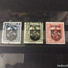 Sellos: SERBIA BELGRADO OCUPACION ALEMANA SEGUNDA GUERRA MUNDIAL WWII. Lote 264089555