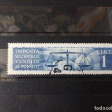Sellos: ITALIA TIMBRE SEGUNDA GUERRA MUNDIAL WWII.. Lote 295545258