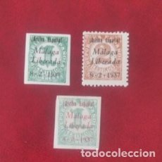 Sellos: SELLOS LOCALES. MÁLAGA LIBERADA. NUEVOS , GOMA Y CHARNELA.. Lote 295809118