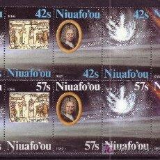 Sellos: TONGA NIUAFO´OU 62/71*** - AÑO 1986 - PASO DEL COMETA HALLEY. Lote 27136974