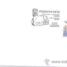 Timbres: ESPAÑA 2008.- PRIMER DIA CIRCULACION. ARQUEOLOGIA. BICHA DE BAZALOTE. ALBACETE. Lote 8788056