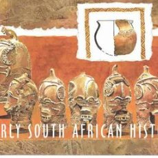 Sellos: SUDAFRICA 1998. CARNET. HISTORIA DE LA TIERRA EN SUDAFRICA. TEMA ARQUEOLOGIA. . Lote 27273697