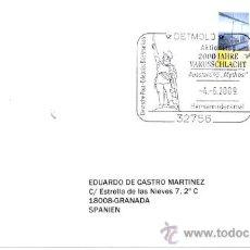 Briefmarken - ALEMANIA 2009. MATASELLO ESPECIAL. BATALLA DE VARUS O DEL BOSQUE TEUTOBURG ROMA-GERMANIA - 14410026