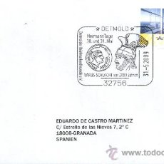Briefmarken - ALEMANIA 2009. MATASELLO ESPECIAL. BATALLA DE VARUS O DEL BOSQUE TEUTOBURG ROMA-GERMANIA - 14410040