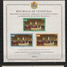 Sellos: TEMA DECLARACION DE INDEPENDENCIA PAREJA DE HOJAS BLOQUE NUEVAS . Lote 14967388