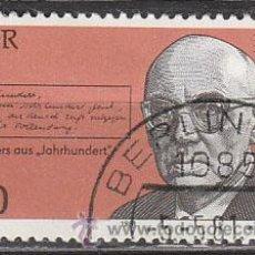 Sellos: ALEMANIA ORIENTAL Nº 2259, JOHANNES R. BECHER, POETA, USADO. Lote 17181784