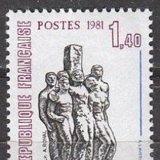 Sellos: FRANCIA IVERT Nº 2177, HOMENAJE A LOS MARTIRES DE CHATEAUBRIANT, 2ª GUERRA MUNDIAL, NUEVOS. Lote 17861992