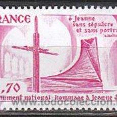 Sellos: FRANCIA IVERT Nº 2051, MONUMENTO NACIONAL A JUAN DE ARCO, NUEVO ***. Lote 18350965