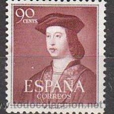 Sellos: EDIFIL Nº 1108, 5º CENTENARIO DE FERNANDO EL CATÓLICO, NUEVO CON CHARNELA. Lote 18760832