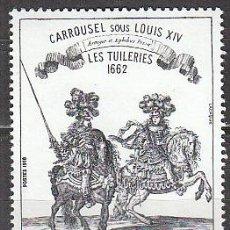 Sellos: FRANCIA IVERT Nº 1983, LAS TULLERIAS 1662 (LUIS XIV), NUEVO ***. Lote 18897021