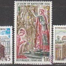 Sellos: FRANCIA IVERT Nº 1774/6, HISTORIA: NAPOLEÓN, NUEVO. Lote 20062087