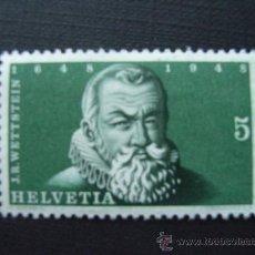 Briefmarken - SUIZA Nº YVERT 453*** AÑO 1948. 300 ANIVERSARIO FIRMA DEL TRATADO DE WESTFALIA - 114844342