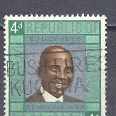Selos: MALAWI- PERSONAJES- USADO. Lote 24542046