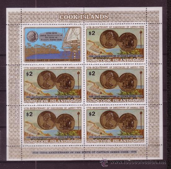 Sellos: COOK 469/71 HB*** - AÑO 1978 - BARCOS - BICENTENARIO DEL DESCUBRIMIENTO DE LAS ISLAS HAWAII - Foto 2 - 34918194