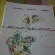Sellos: LA PROVINCIA DE CÁDIZ SELLO A SELLO DIARIO DE CADIZ, DIARIO DE JEREZ. LE FALTAN 2. EST2B1. Lote 42286451