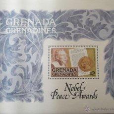 Sellos: GRANADA-GRANADINAS. HB 32 PREMIO NOBEL: ALFRED NOBEL MEDALLA DE LA PAZ**. 1978. SELLOS NUEVOS Y NUM. Lote 44296061