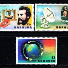 Francobolli: BARBUDA 281/83** - AÑO 1977 - CENTENARIO DEL TELEFONO. Lote 46901557