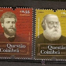 Briefmarken - Portugal ** & A Questão Coimbrã, António de Castilho por Anthero do Quental 1865-2015 (2 - 51413108