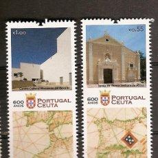 Sellos: PORTUGAL ** & 600 ANOS DE CEUTA 2015 (5). Lote 52492504