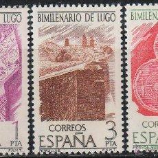 Timbres: EDIFIL 2356/8, BIMILENARIO DE LUGO, NUEVO *** (SERIE COMPLETA). Lote 195872195