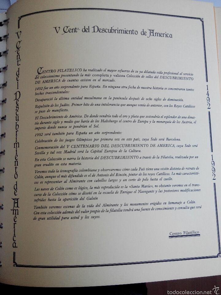 Sellos: Sellos colección V Centenario Desc de America.1492-1992 - Foto 3 - 55775632