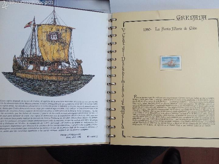Sellos: Sellos colección V Centenario Desc de America.1492-1992 - Foto 4 - 55775632