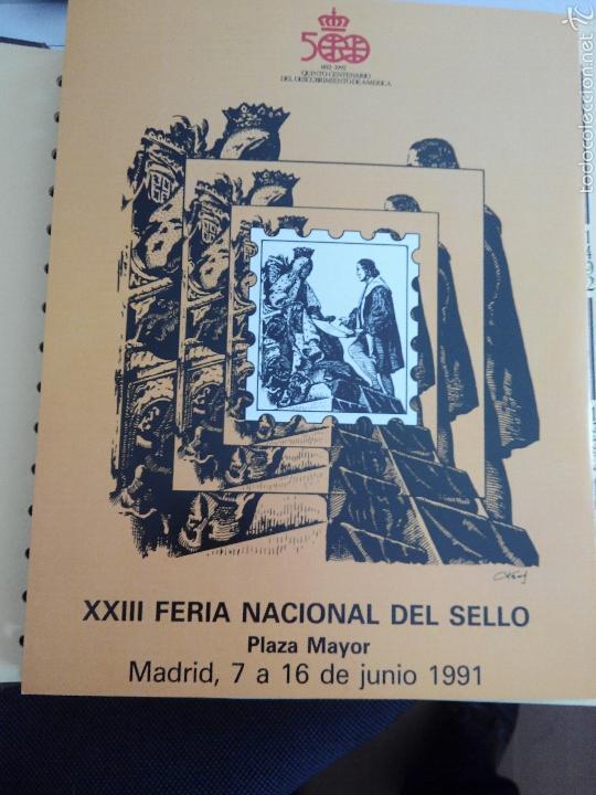 SELLOS COLECCIÓN V CENTENARIO DESC DE AMERICA.1492-1992 (Sellos - Temáticas - Historia)