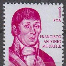 Briefmarken - Edifil nº 1821, forjadores de America: Francisco Antonio Mourelle, nuevo *** - 57159737