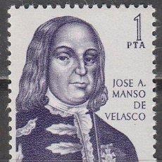 Sellos: EDIFIL Nº 1752, JOSÉ MANSO DE VELASCO, TORRECILLA-CAMEROS/PRIEGO-CÓRDOBA, NUEVO ***. Lote 139835680