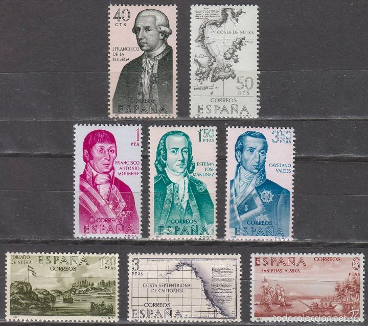 EDIFIL Nº 1819/26, FORJADORES DE AMERICA AÑO 1967, NUEVO *** (SERIE COMPLETA) (Sellos - Temáticas - Historia)