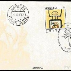 Sellos: VENEZUELA 1992 SPD 3ER VIAJE DE COLON. Lote 86751784