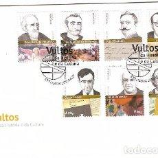 Sellos: PORTUGAL & FDC VULTOS DE LA HISTORIA Y LA CULTURA 2017 (765)). Lote 98535215