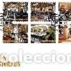 Sellos: PORTUGAL & FDC CAFÉS HISTÓRICOS, I GRUPO 2016 (6476). Lote 99250739