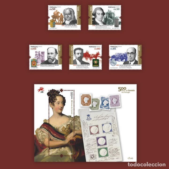 PORTUGAL ** & PORTUGAL Y 500 AÑOS DE CORREO EN PORTUGAL, GRUPO II 2017 (6546) (Sellos - Temáticas - Historia)