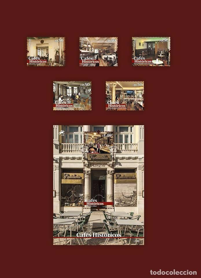 PORTUGAL ** & CAFÉS HISTÓRICOS, II GRUPO 2017 (779) (Sellos - Temáticas - Historia)